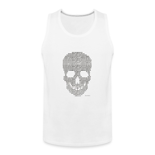 Hacker binary - Mens - Men's Premium Tank