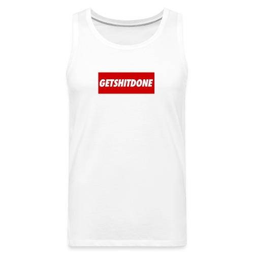 GETSHITDONE - Men's Premium Tank