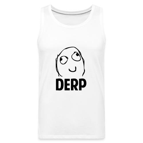 Derp - Men's Premium Tank