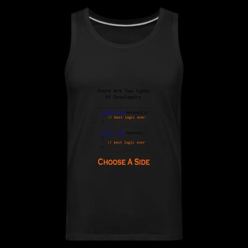 Code Styling Preference Shirt - Men's Premium Tank