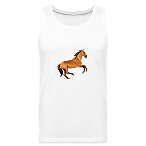 horse riding - Men's Premium Tank