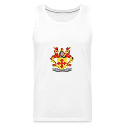 Carlisle Family Crest - Men's Premium Tank