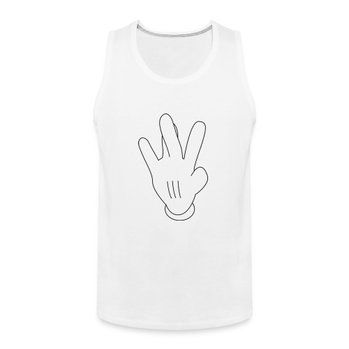 westside mickeymouse hand - Men's Premium Tank