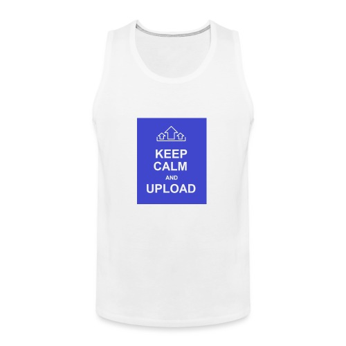 RockoWear Keep Calm - Men's Premium Tank