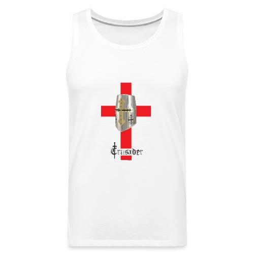 crusader_red - Men's Premium Tank