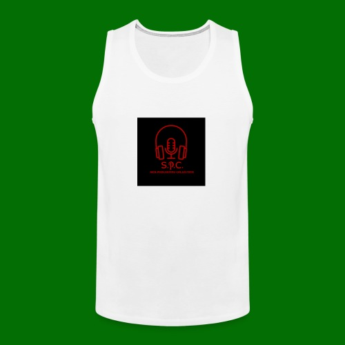 SPC Logo Black/Red - Men's Premium Tank