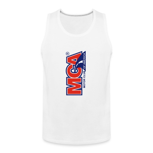 MCA Logo Iphone png - Men's Premium Tank