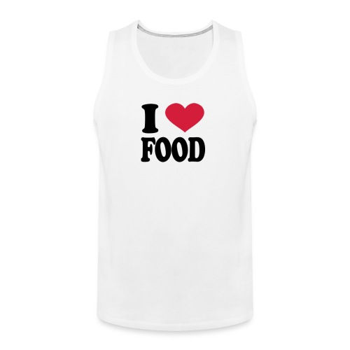 i love food - Men's Premium Tank