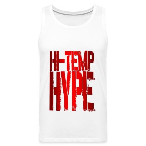hype red png - Men's Premium Tank