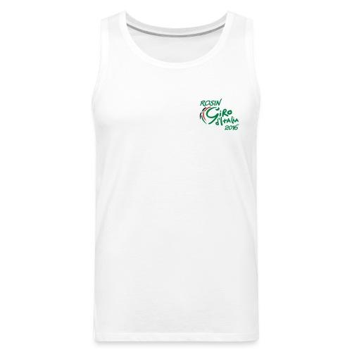 rosin tour tshirt - Men's Premium Tank