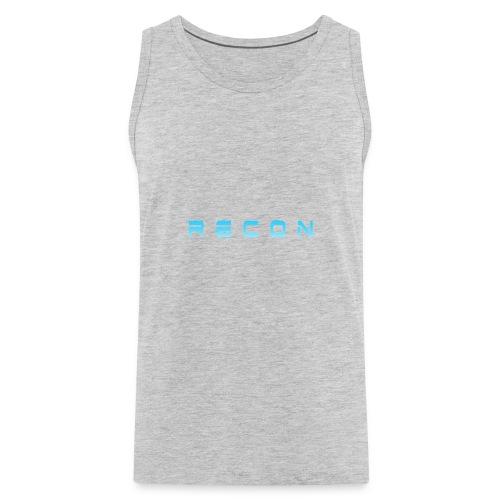 Rec0n Text - Men's Premium Tank