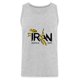 Pouncing Cheetah Iran supporters shirt - Men's Premium Tank