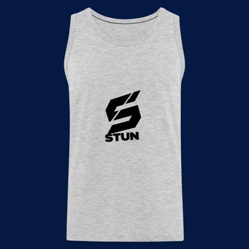 Stun Logo with text - Men's Premium Tank