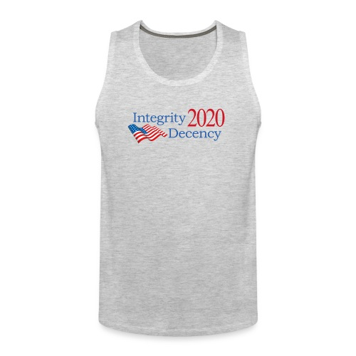 Vote for real American values! - Men's Premium Tank