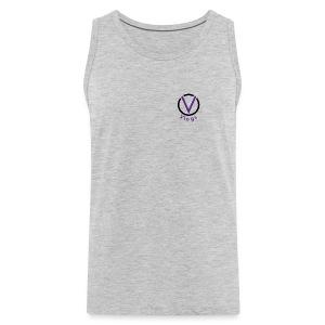 VarsityVlogs Logo - Men's Premium Tank