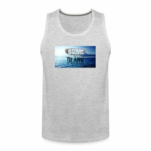 Ocean Blank Cloud - Men's Premium Tank