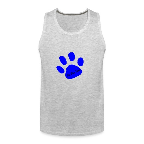 Signed Print from The Blue Tiger - Men's Premium Tank