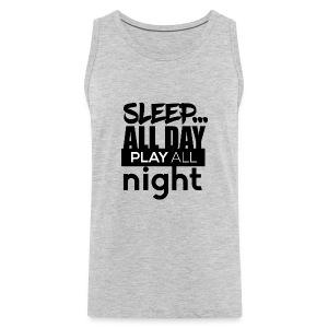 TML - Sleep All day - Men's Premium Tank