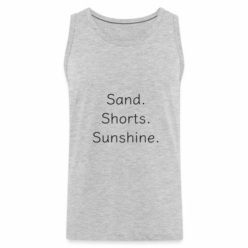 Sand Short Sunshine - Men's Premium Tank