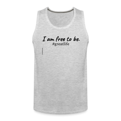 Free to Be Movement (upgrade) - Men's Premium Tank