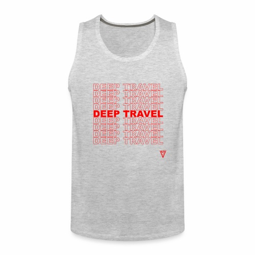 DEEP TRAVEL - Men's Premium Tank
