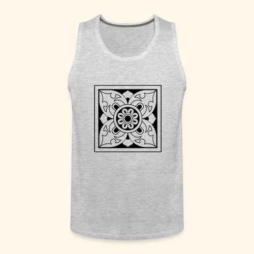 ceylon collection front 1 - Men's Premium Tank
