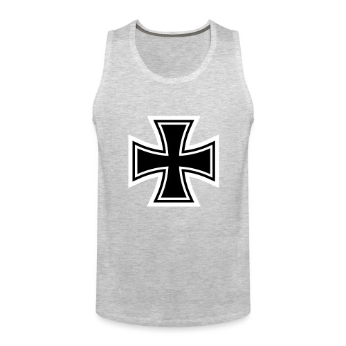 1200px German Cross svg - Men's Premium Tank
