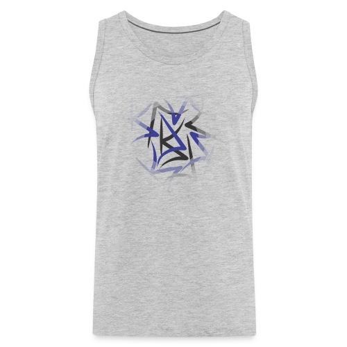 designcrowd t shirt back2 printready 300dpi - Men's Premium Tank