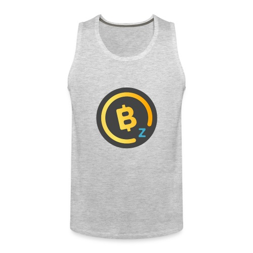 BitcoinZ Logo - Men's Premium Tank