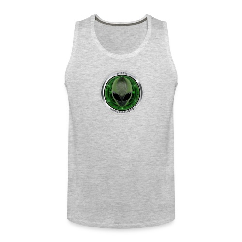 New Alien Investigations Head Logo - Men's Premium Tank