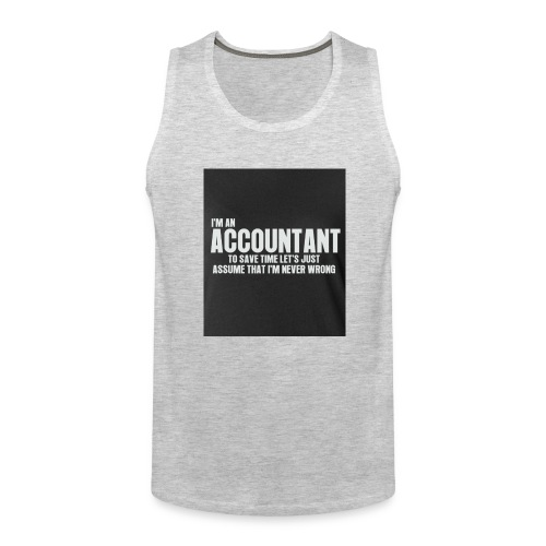 accountant - Men's Premium Tank