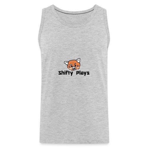 Shifty: Red Panda Tee Male - Men's Premium Tank