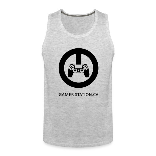 GamerStation.ca logo - Men's Premium Tank