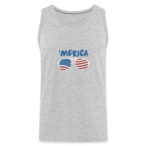 Merica 4th of July - Men's Premium Tank
