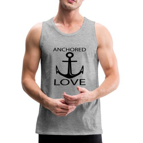 TSHIRTFINDERS -T-SHIRT ANCHOR LOVE - Men's Premium Tank