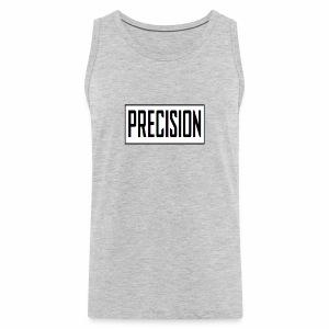 precision logo1 5 - Men's Premium Tank