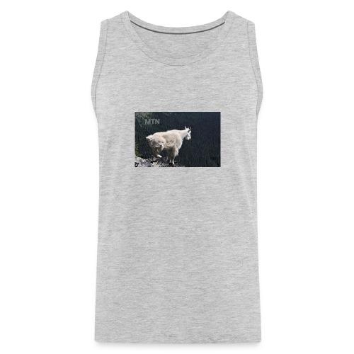 Goat design by MTNshirts - Men's Premium Tank