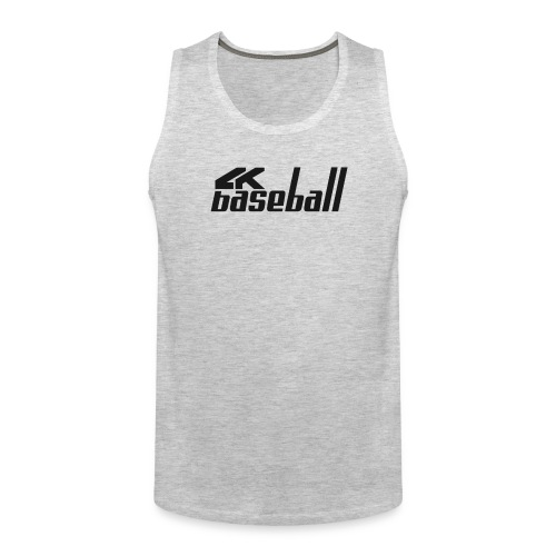 4kBaseball Official Logo - Men's Premium Tank