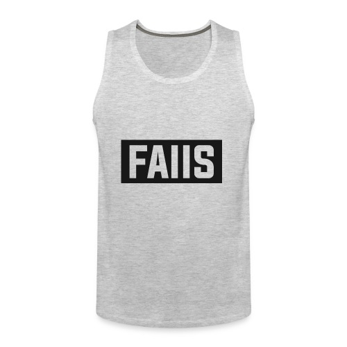 FAIIS logo Design - Men's Premium Tank