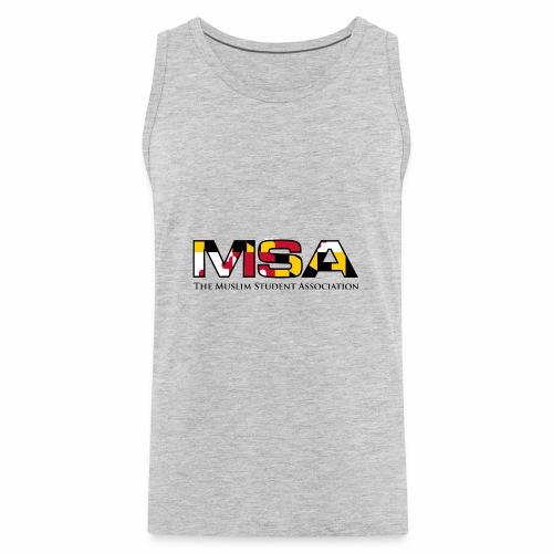 Maryland Flag MSA Logo - Men's Premium Tank
