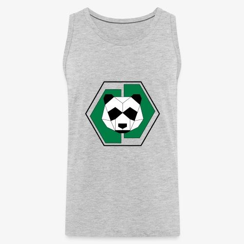 Panda Geometric - Men's Premium Tank