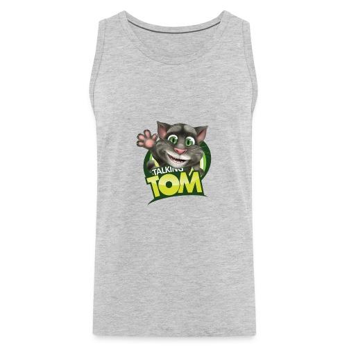 Talking_TOM_wave_preview_lowRes - Men's Premium Tank