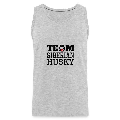 Team Siberian Husky Designs - Men's Premium Tank