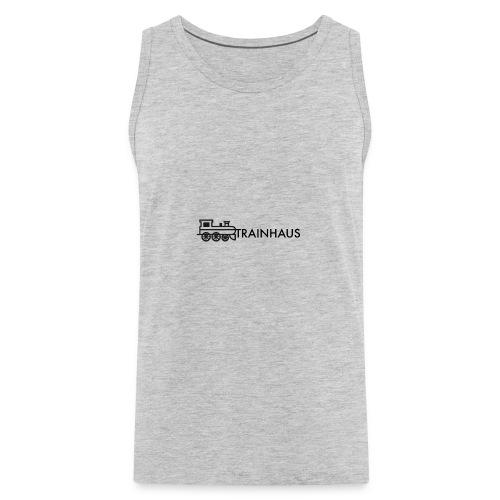 trainhouse logo - Men's Premium Tank