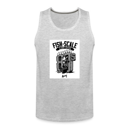 fish scale design - Men's Premium Tank