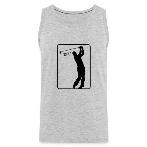 Golf Shot Shit. - Men's Premium Tank