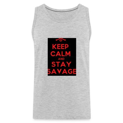 stay savage - Men's Premium Tank