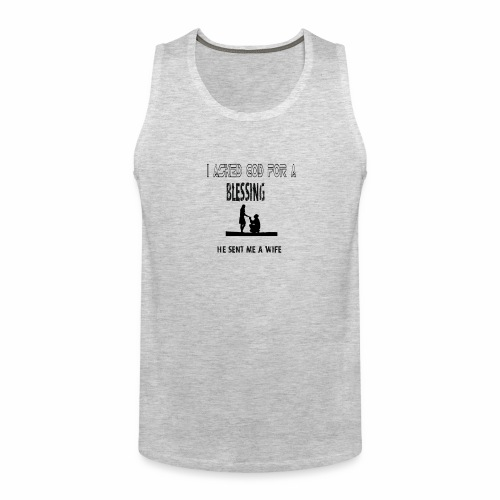 iasked god2 - Men's Premium Tank