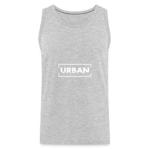 Urban City Wht - Men's Premium Tank
