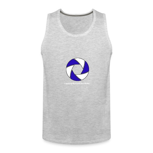 CMD Studios Logo Back - Men's Premium Tank